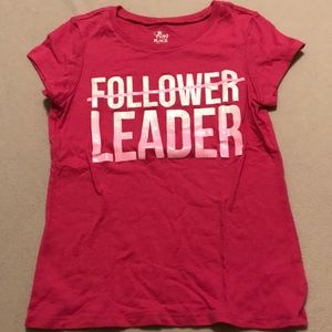 The Children's Place girls pink T-shirt Size 5/6